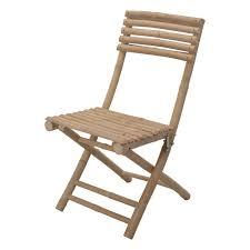 lot de 2 chaises de jardin pliantes bambou chaise et fauteuil de