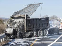 100 Truck N Stuff Washington Pa Eyewitness Video Shows Fiery Fatal Crash Following Congressional