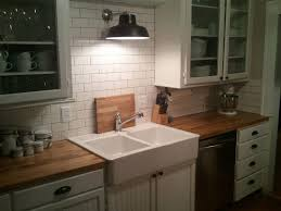 Large Size Of Modern Kitchenelegant White Kitchen Cabinets With Butcher Block Countertops Interesting