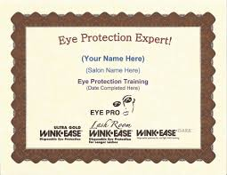 Tanning Bed Eye Protection by Eye Pro Offers U201ceye Protection Expert U201d Certificate With 2015 Salon