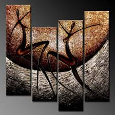 modern paintings on canvas abstract painting set12058