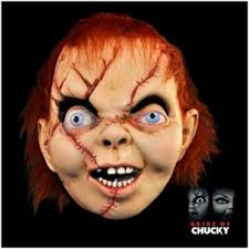 Chucky Halloween Mask by Licensed Child U0027s Play Bride Of Chucky Mask Version 2 Mad About