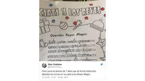 Una Carta A Los Reyes Magos Diferente Más Alla Del Rosa O Azul
