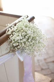 how to decorate a wedding with babys breath flowers