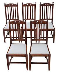 Antique Quality Set Of 5 Oak High Back Art Nouveau Dining Chairs ... Set Of 8 Vintage Midcentury Art Nouveau Style Boho Chic Italian Stunning Of Six Inlaid Mahogany High Back Chairs 2 Pair In Antiques Atlas Lhcy Solid Wood Ding Chair Armchair Lounge Nordic Style A Oak Set With Table Seven Chairs And A Side Ding Suite Extension Table France Side In Leather Chairish Gauthierpoinsignon French By Gauthier Louis Majorelle Caned An Edouard Diot Art Nouveau Walnut And Brass Ding Table Four 1930s American Classical Shieldback 4