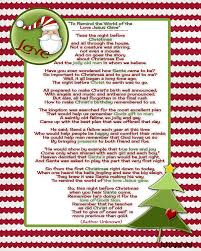 Twas The Night Before Halloween Poem by Santa And Christ U2026poem And A Christmas Tradition Inkhappi
