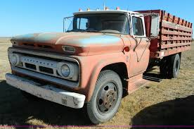 100 1963 Chevrolet Truck C60 Grain Truck Item K8245 SOLD December
