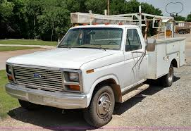 100 Ford F350 Utility Truck 1984 Utility Truck Item F7825 SOLD June 25 Co