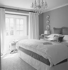 Grey Bedroom Inspiration Gray Interior Paint And Silver Wood Furniture