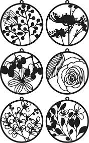 Floral Paper Cutting Templates