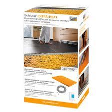 Schluter Ditra Tile Underlayment by Ditra Heat Kit Covers 60 3 Sq Ft Heats 37 5 Sq Ft U2013 Hobo