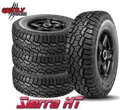 100 Grizzly Trucks Sierra Trail AT 10 Ply E Load Range All Terrain Tire
