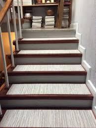 diy stair treads from flor carpet tiles flooring