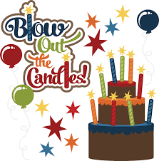 Happy birthday boy cake clipart