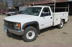 100 1998 Chevy Truck For Sale Chevrolet Cheyenne 2500 Utility Truck Item E4696 SO