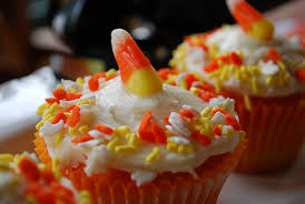 Cakes Decorated With Sweets by Candy Corn Cupcakes Your Homebased Mom