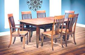 Nashville Collection Solid Wood Dining Set Hand Crafted Amish Room Made In The