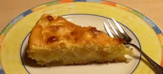 dessert facile et léger gâteau aux pommes au fromage blanc