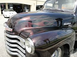 1951 Chevy 5 Window Black Cherry Pickup Truck - Classic Chevrolet ...
