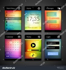 Mobile Interface Elements Colorful Wallpaper Design Stock Vector ... Fastapps Creative Mobile Apps Psd Template By Blogfair Themeforest Ct Web Design Company Android And Iphone App Development Connecticut Collection Of 45 Best Flat Ui Designs For Your Inspiration Daily 323 Ux Design Flight Status Page Ivo Mynttinen Pinterest Home Aloinfo Aloinfo 100 Tile Images Atomic Methodology Brad Frost Create The Perfect Homepage With These Tips Examples Karenderia Skin Themes Plugins Free