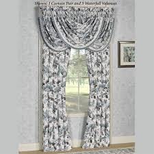 captivating jacobean floral curtains and winston jacobean floral