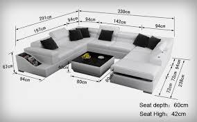 table pour canapé canapé d angle virezzi en cuir italien haut de gamme pas cher