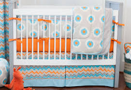 Gray Chevron Curtains Uk by Bedding Set Bewitch Grey And Orange Striped Bedding Horrible