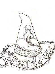 A Isforafrowizard Of Oz Coloring Pages Free