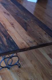 Diy Reclaimed Wood Table Top by Best 25 Reclaimed Wood Table Top Ideas On Pinterest Wood Tables