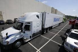 Wal-Mart Takes Aim At Amazon - WSJ Indiana Governor Touts 500 New Trucking Jobs Transport Topics Selfdriving Trucks Are Going To Hit Us Like A Humandriven Truck Local Agency Mono Helps Walmart Thank Truckers And Plead For More Partners With Uber Lyft Test Grocery Delivery Service Distribution Driving Careers Driver Layovercom How Do I Get A High Paying Job Sutherland Walmart Truck Driver Makes 3 Million Safe Miles Ats Anderson Service Tnsiam Flickr Tesla Semi Orders 15