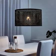 nymö leuchtenschirm schwarz messingfarben 59 cm
