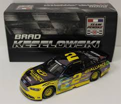 Brad Keselowski 2016 Alliance Truck Parts 1:24 Color Chrome Nascar ...