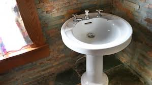 Replacing A Faucet On A Pedestal Sink by How To Install A Pedestal Sink Angie U0027s List