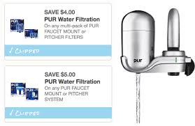 Pur Faucet Mounted Water Filter by 9 In New Pur Water Filtration Coupons U2013 Hip2save