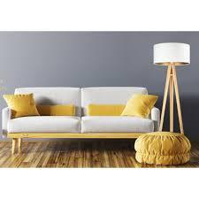 stehle weiß gold retro dreibein 145cm wohnzimmer
