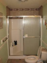 fiberglass shower pan and tile walls can you install flattering