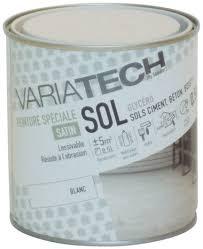 sols blanc satin pour les surfaces intérieures et extérieures