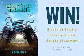 Tickets Giveaway: Monster Trucks Movie Preview Screening | Familystaysg Image 2017spinmanstertrucksmoviebigugly New Movies Movie Trailers Dvd Tv Video Game News Explore 50 Filemonster Mutt Truckjpg Wikimedia Commons 16x1200 Monster Trucks 2017 Resolution Hd 4k Semi Truck Wwwtopsimagescom The 4waam Themed Party Plus Giveaway Mamarazziknowsbestcom Every Character Ranked Cutprintfilm Food Are Fun Kids First Blog Archive Adventurous Monster Trucks Trailer 2 Boompk
