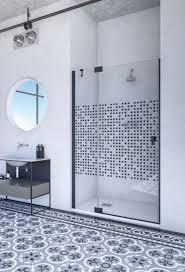 doccia kabul duschtür an festteil in nische dusche