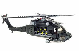 Custom Army Black Hawk Helicopter Military Uh-60 Minigun Made With ... Amazoncom Brick Brigade Custom Lego Military Model Vehicle For Lego Wwii Deuce And A Half Cckw Itructions Youtube Wc52 Truck Modern Vehicles Ideas Product Ideas Train Carriages Brickmania Blog Winners Arent Born Theyre Built Page 58 Classic Legocom Us Deluxe Swat Police Made With Real Bricks Heavy Tatra 8x8 Toy Mini Army War Building Block Jeep M35 Halftrack Bricknerd Your Place All Things The