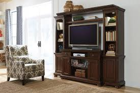 Ashley Furniture Porter Rustic Brown Entertainment Center Click To Enlarge Loading