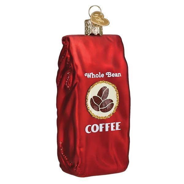 Old World Christmas Bag of Coffee Beans