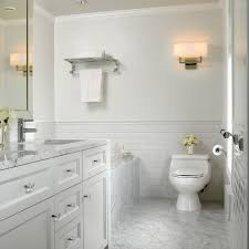 matte white subway tile walls bathroom traditional with marble