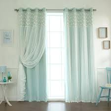 White Lace Curtains Target by White Out Curtains Blackout Curtains 1 Pair Gray White Sheer