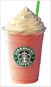 Starbucks Strawberries Creme Frappuccino