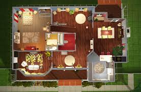 Sims 3 Legacy House Floor Plan by Sims 2 Floorplan