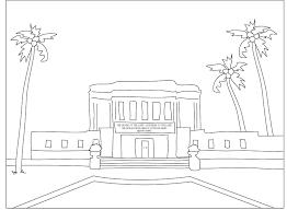 Mormon Share Mesa Arizona Temple Coloring Page Inside