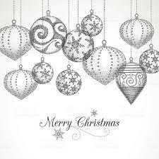Drawn Christmas Ornaments 1