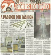 24 Hours Toronto March 10 2016 Passion For Fashion Article Ashworth Associates Inc