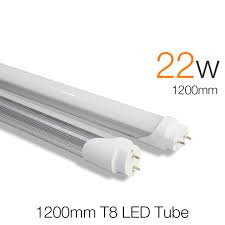 t8 led 1200mm 22w smd 2835 brightness tubetes 4ft t8